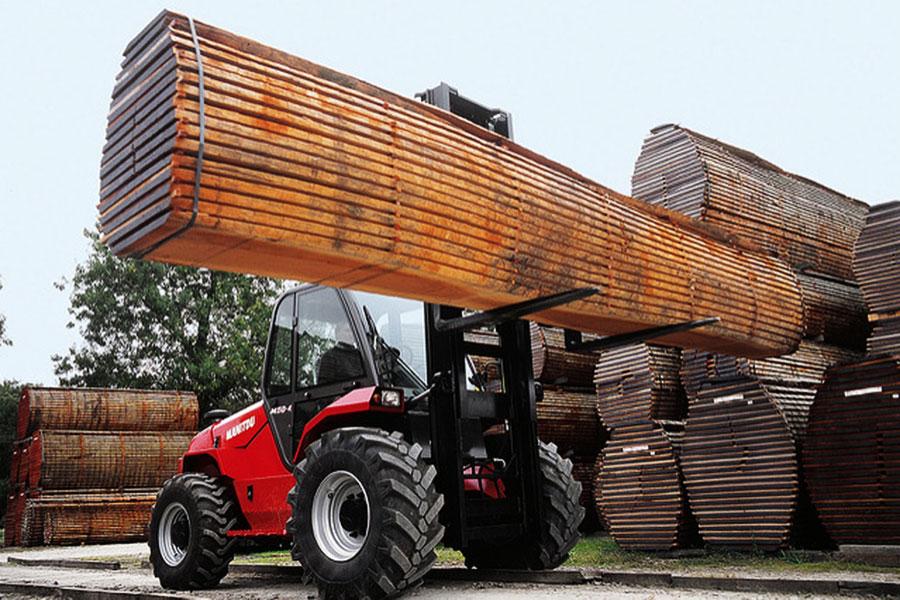 Sztaplarka - przemysł drzewny
