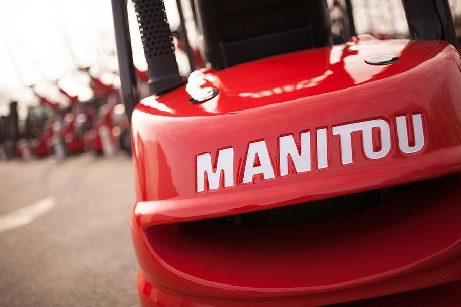 Wózki widłowe używane Manitou